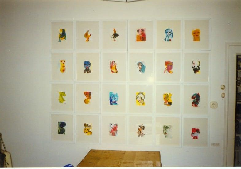 Malerei Ausstellung 5. Kunstsonntag 1997