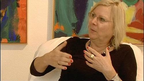 Annette Kunow im Atelier